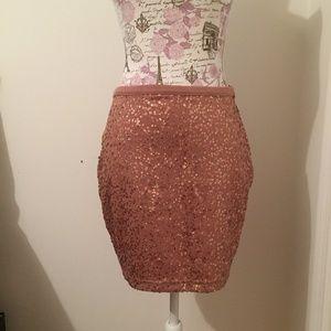 Sequin skirt (Size: M)